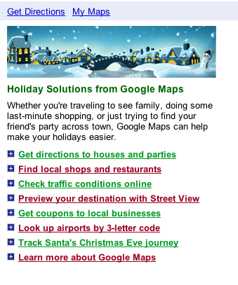 Putting the Google back in Christmas
