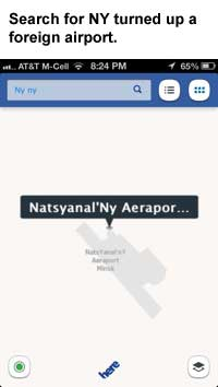 Nokia HERE Maps Sucks (Significantly) More Than Apple Maps