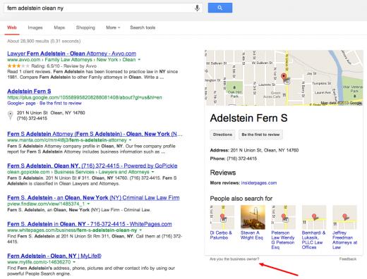 fern adelstein olean ny   Google Search