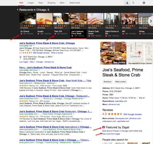 Joe s Seafood  Prime Steak   Stone Crab Chicago   Google Search