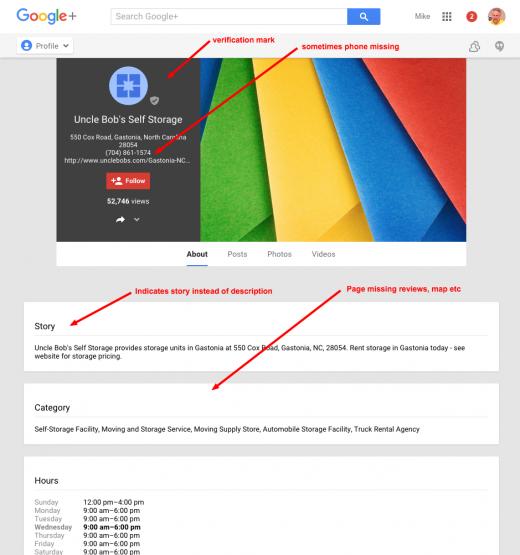 Uncle Bob s Self Storage About Google