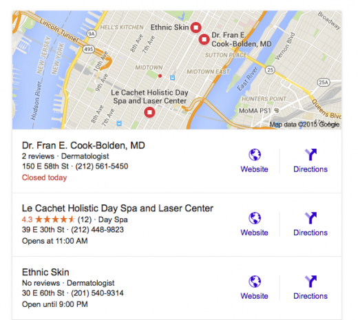 Search: Ethnic Skin Care NYC