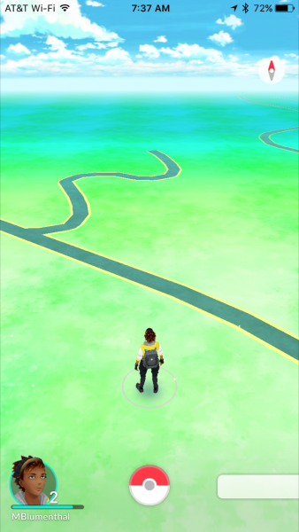Hah! go figure that there are no Pokemon near the office of Professor Maps... that proves something. Just not sure what.