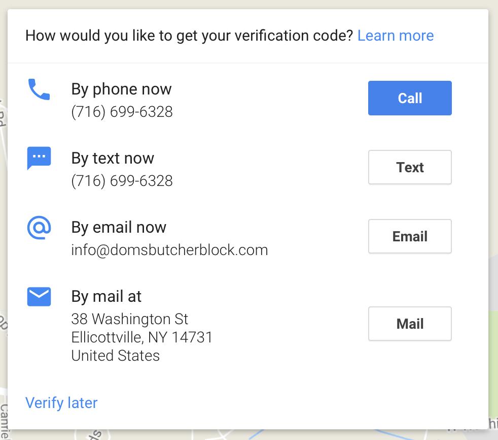 Google Testing Verification Whitelisting via API with Large
