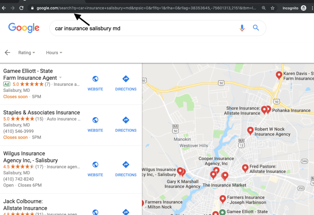 Understanding Google Places & Local Search on mapquest driving directions, amazon driving directions, mapblast driving directions, travelocity driving directions, need map for driving directions,